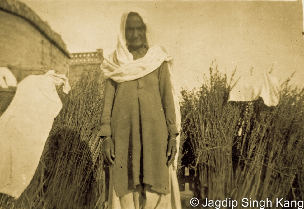 Thakar Singh's widow, Basant Kaur, 1971