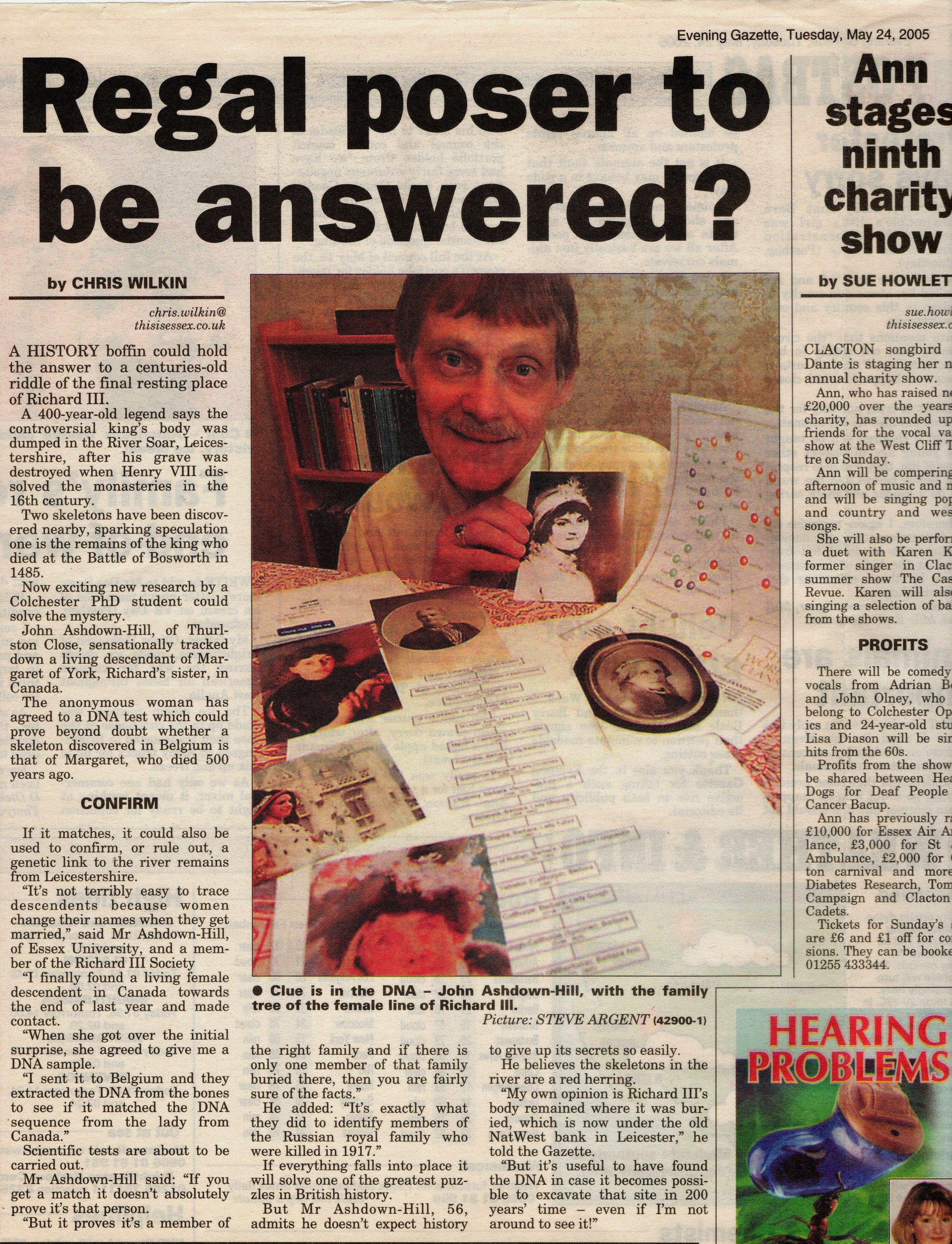 Evening Gazette 24 May 2005.jpg