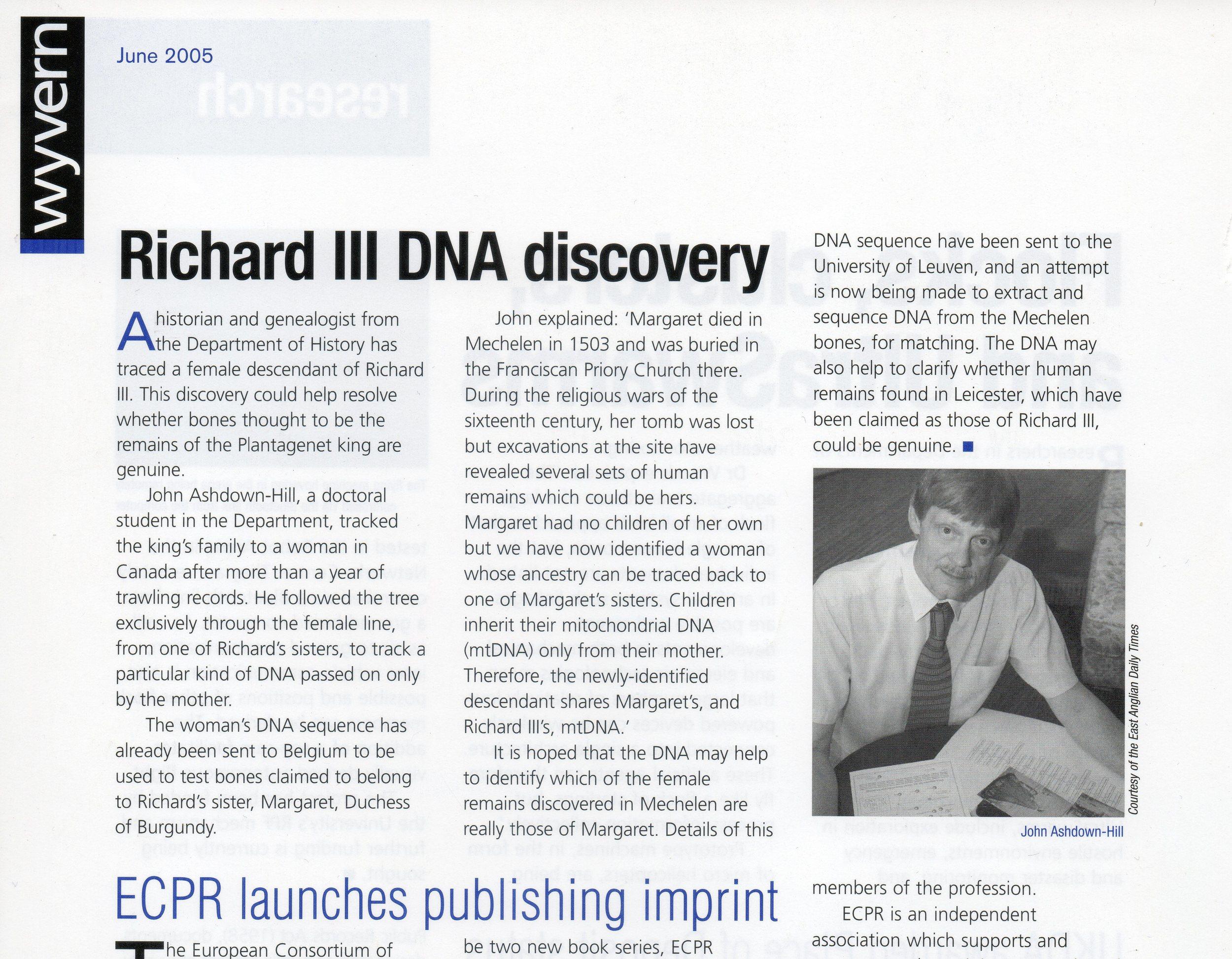 University of Essex Wyvern magazine, June 2005.jpg