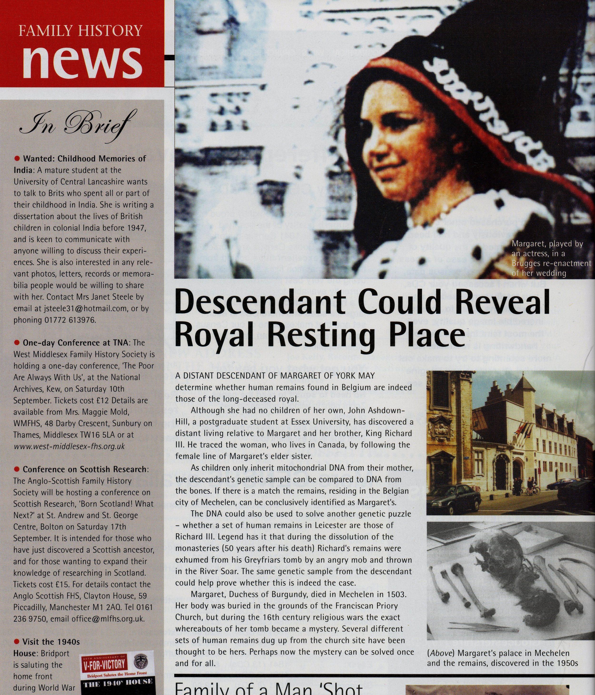 Family History magazine, August 2005, p. 12.jpg
