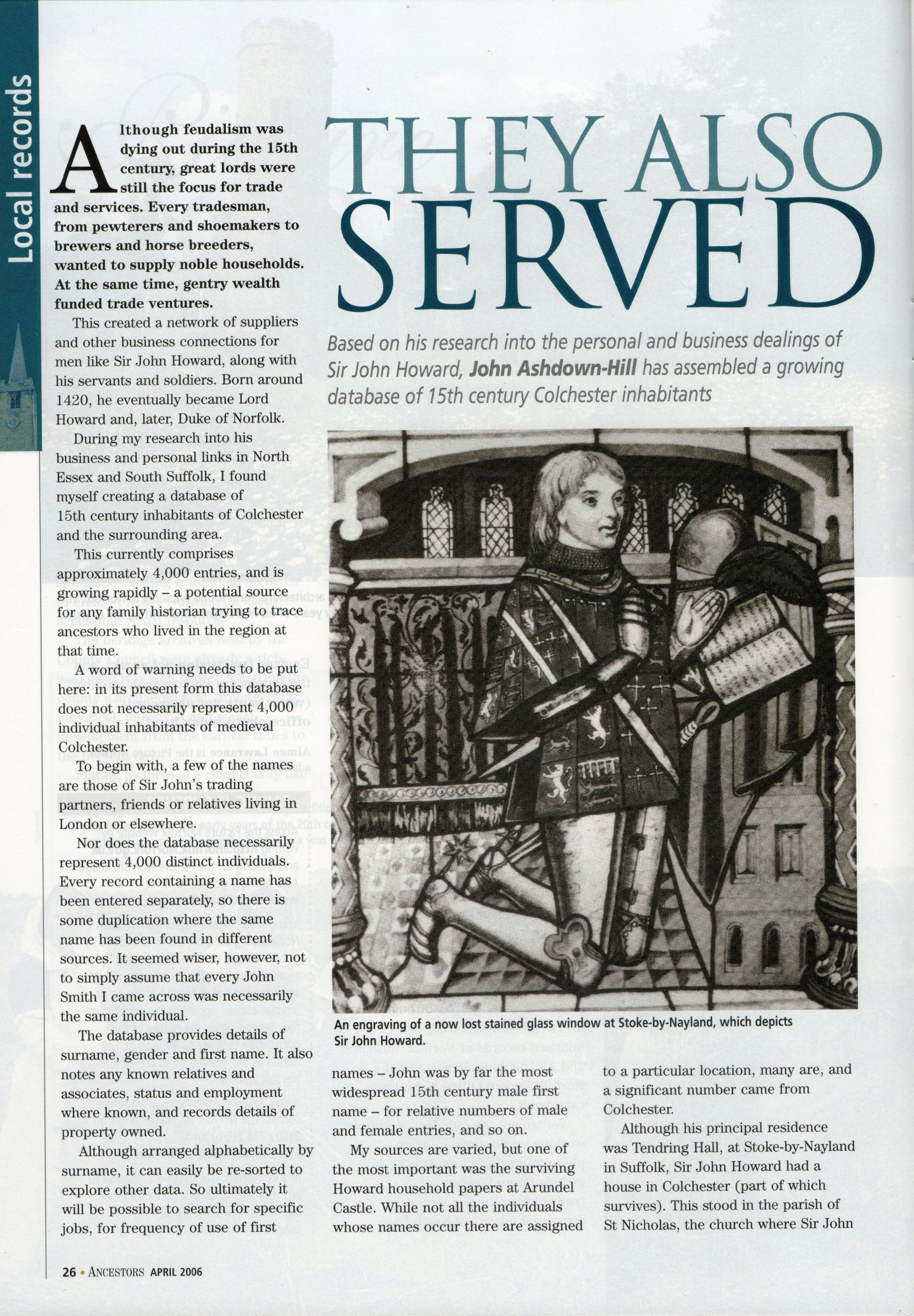 Ancestors magazine April 2006 p. 26.jpg