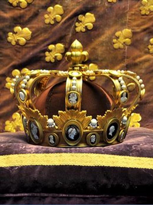 Funeral Crown of Louis XVIII