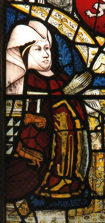 Eleanor's sister, Elizabeth Talbot, Duchess of Norfolk, in her 40s (Long Melford Church, Suffolk)