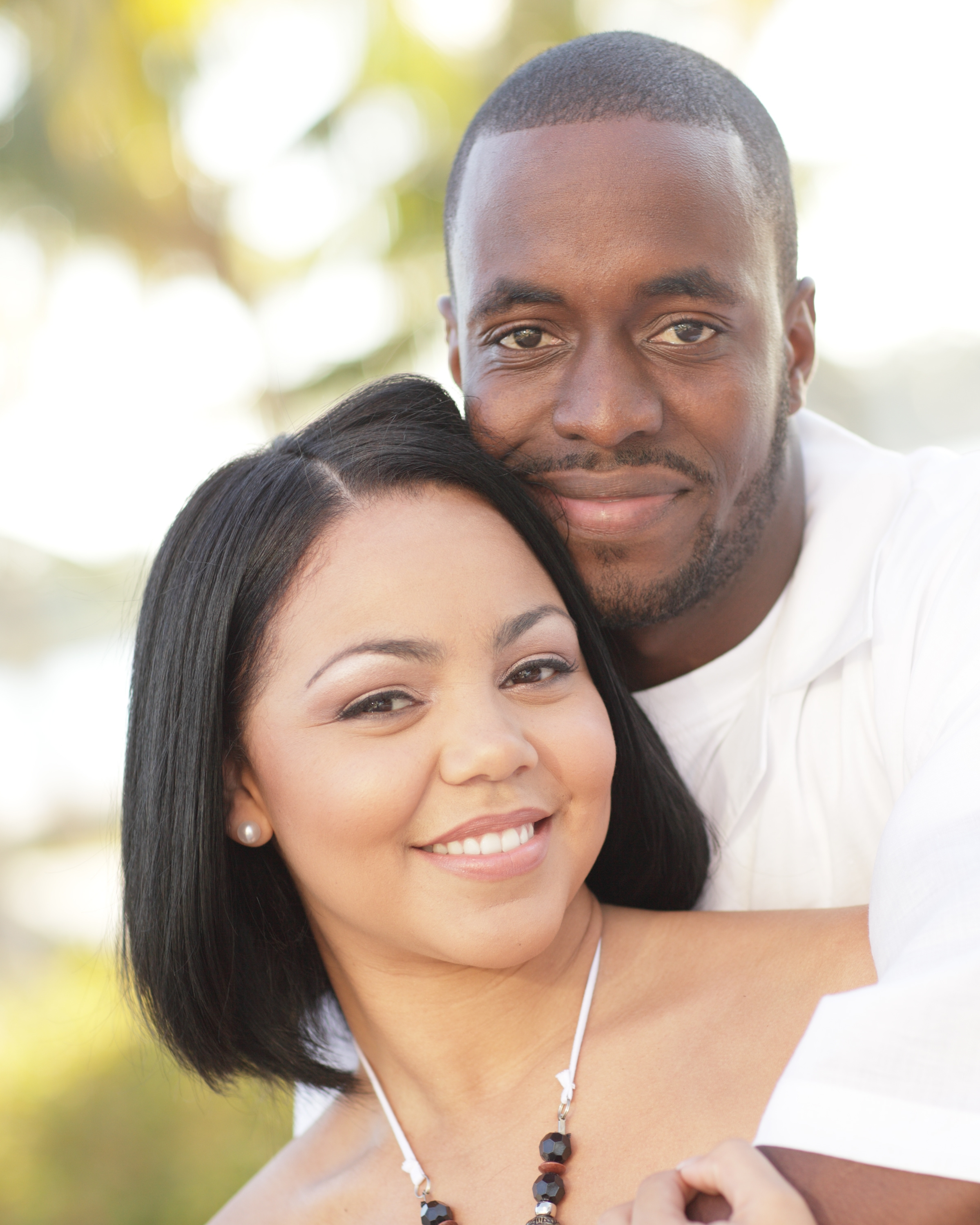 single young couple