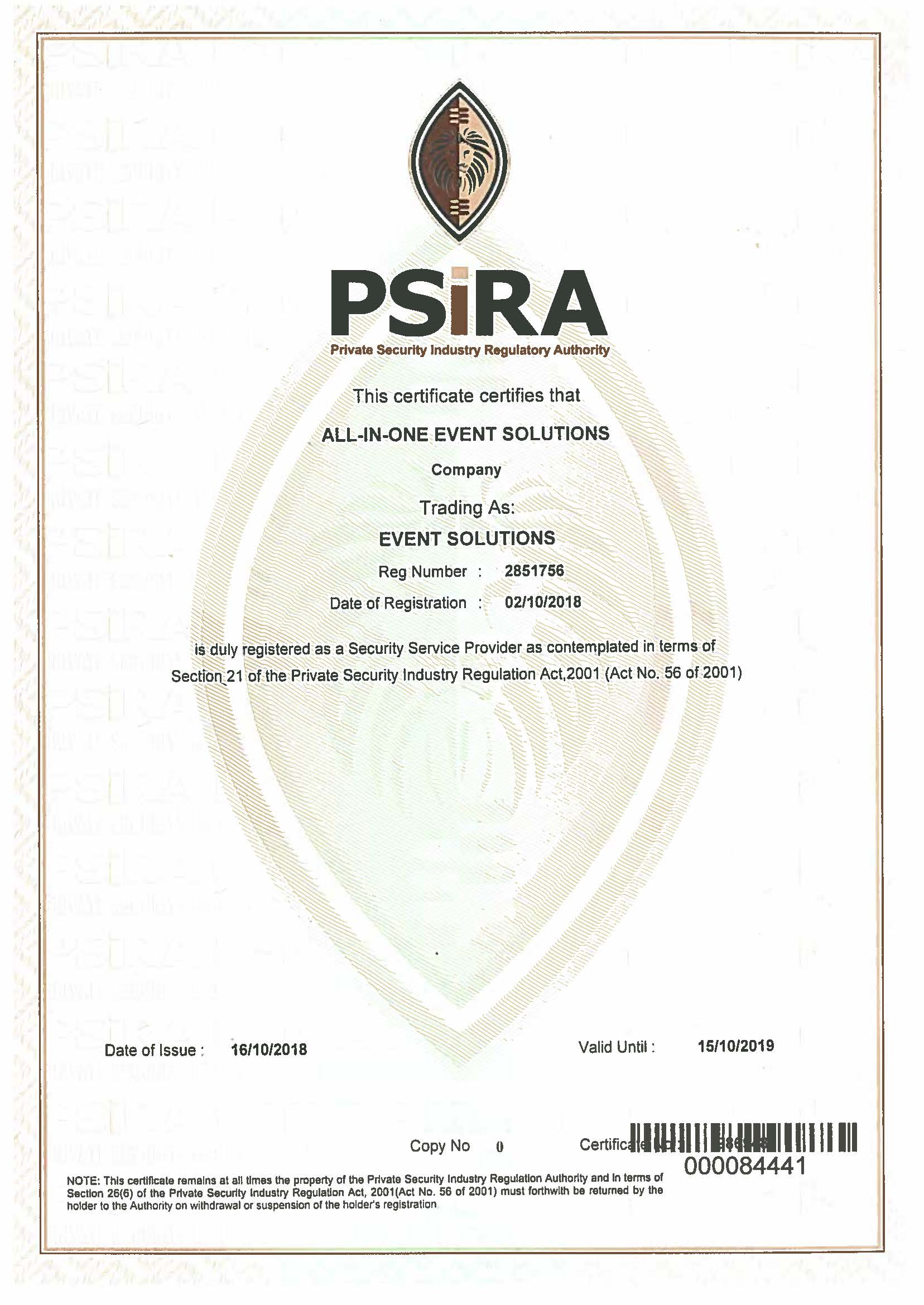 All-In-One Event Solutions Psira Certificate Oct 2018.jpg