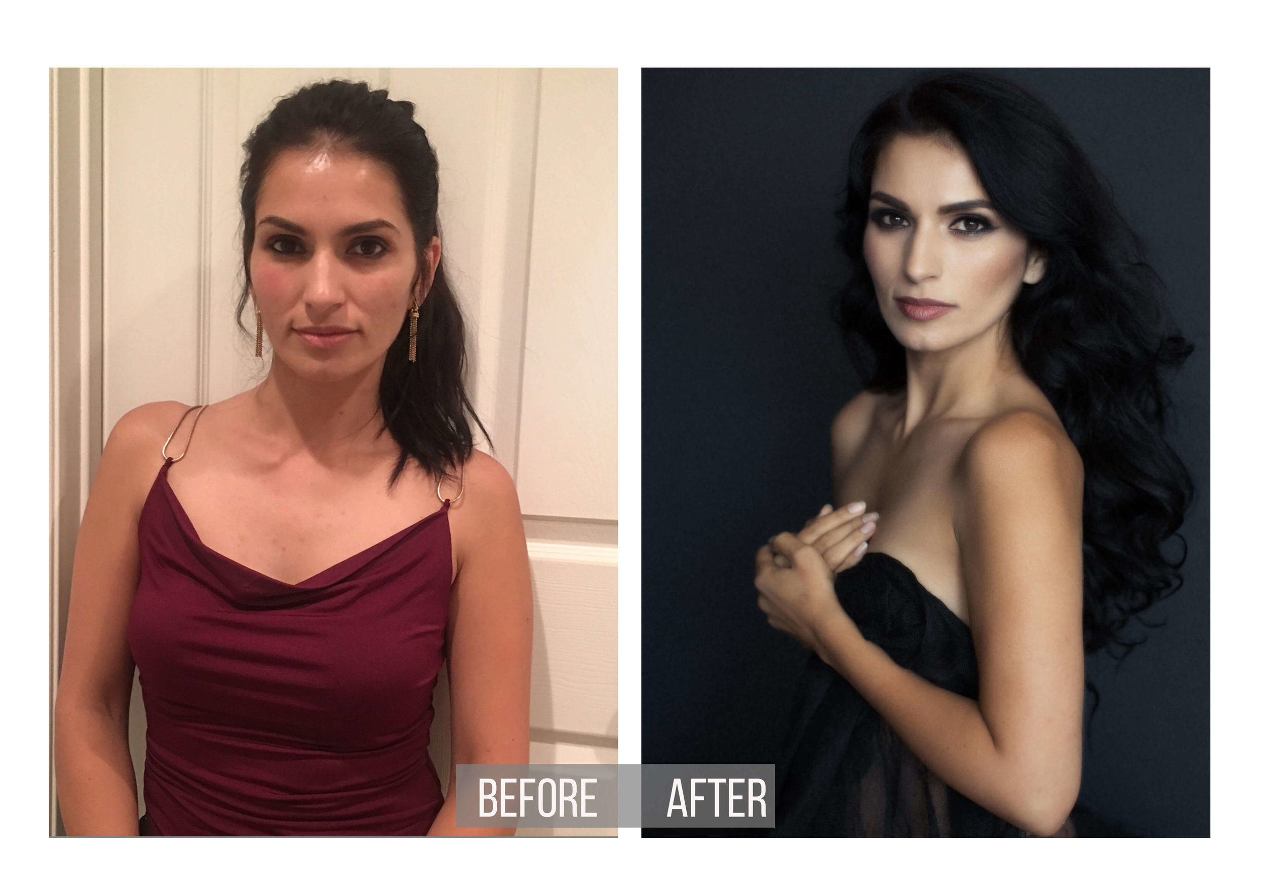 Before-and-After-Styling-Photo-Beautiful-Model