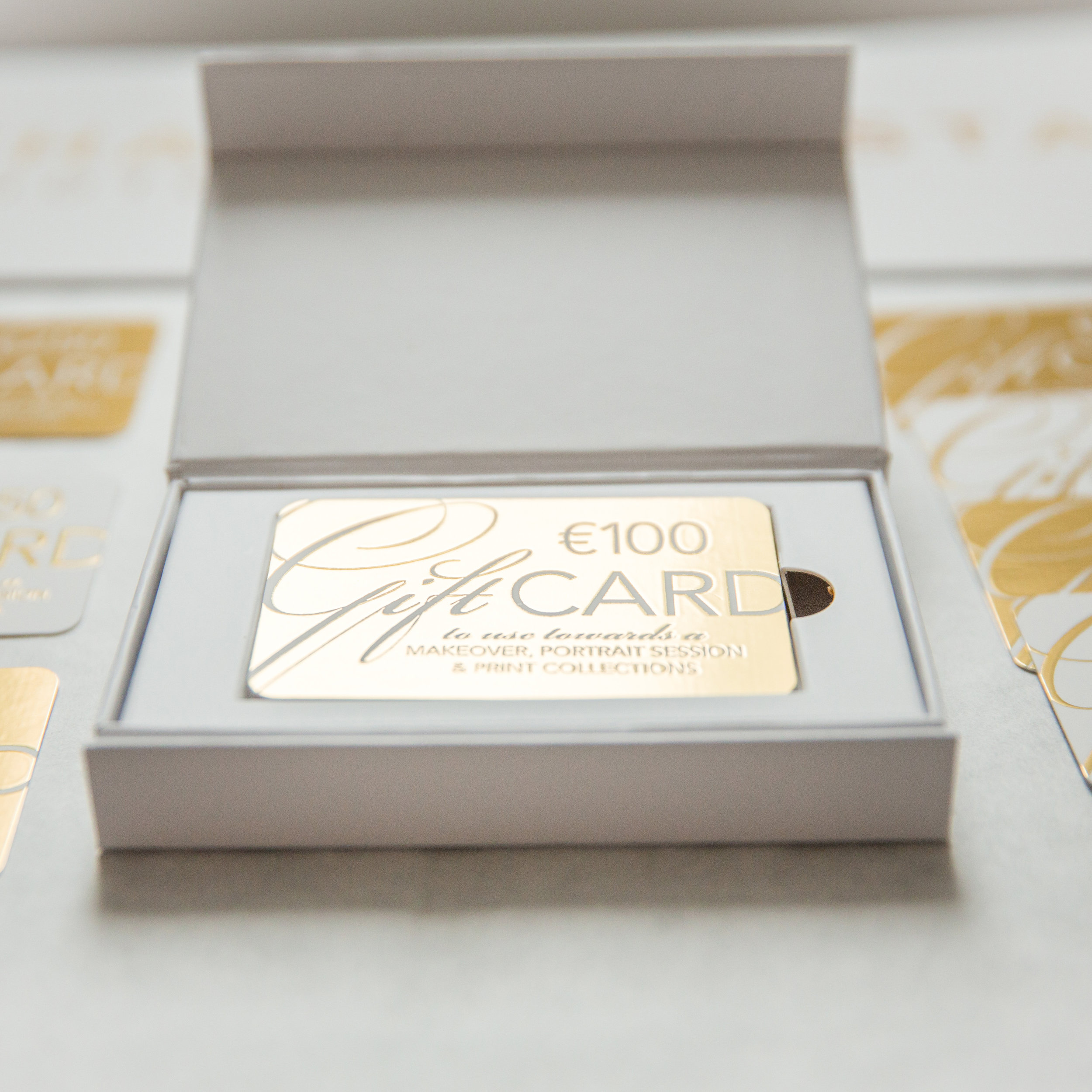 GOLDEN GIFT VOUCHER - You can also gift an elegant voucher that can be used against any type of photoshoot (Mother & Daughter, Family, Headshot, Luxury Glamour)