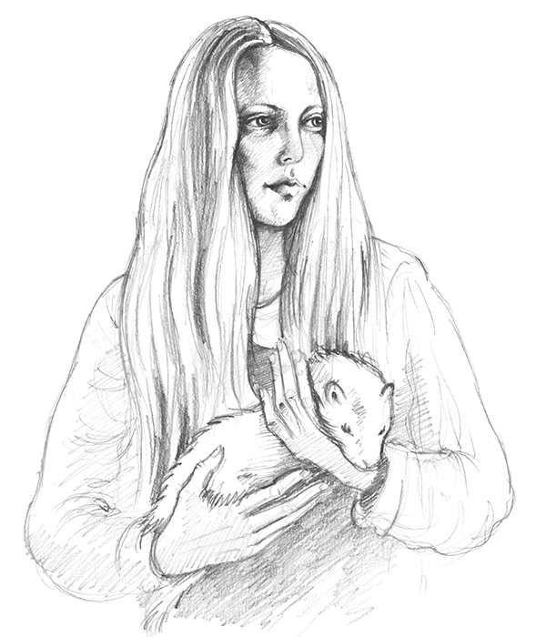Tanya and the Ferret