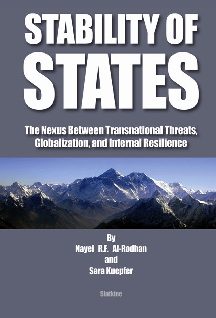 Copy of STABILITY OF STATES: The Nexus Between Transnational Threats, Globalization, and Internal Resilience