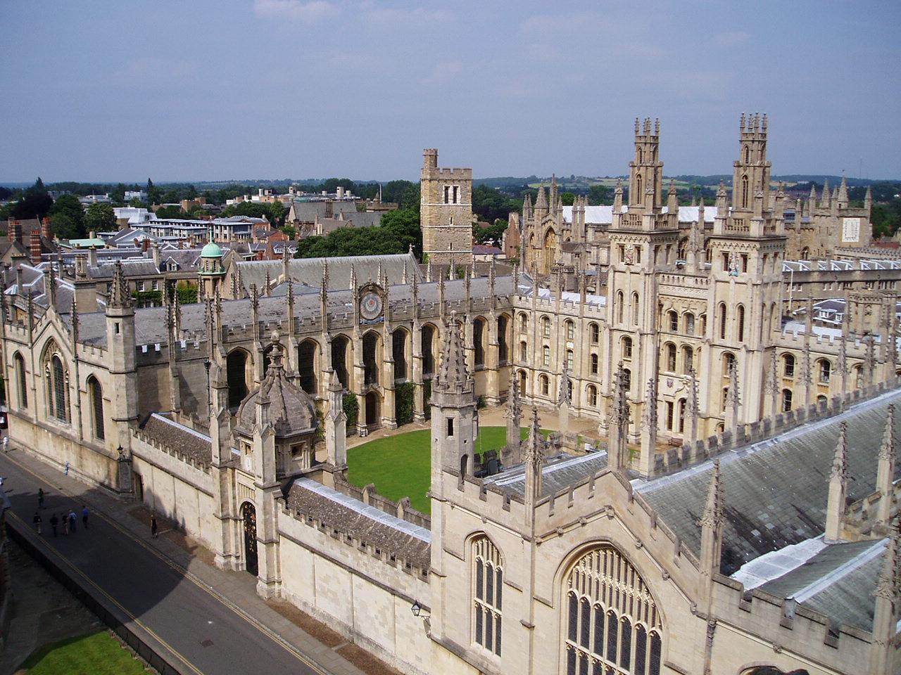 St. Antony's College at Oxford University, Oxford.