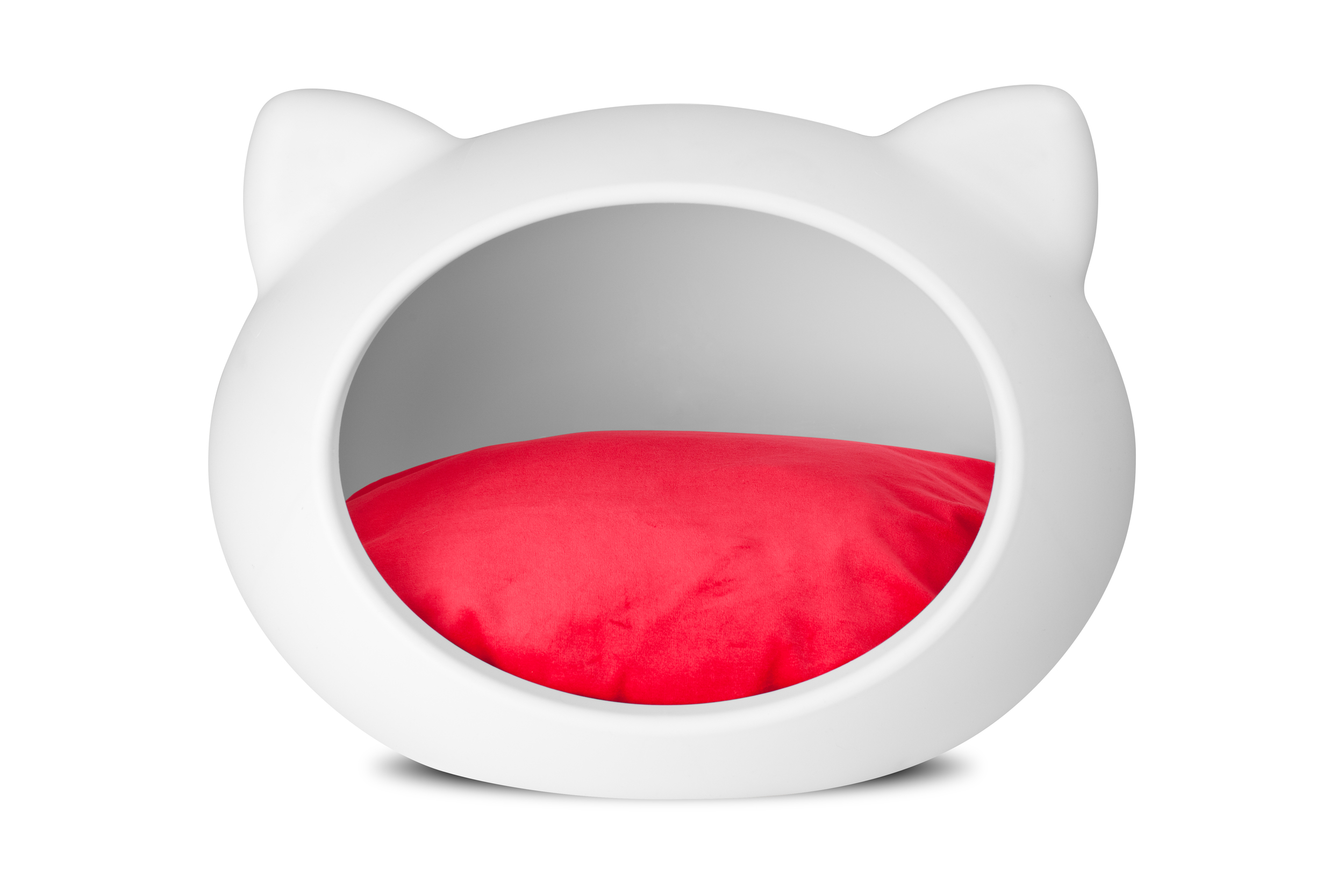 white_cat_bed_red_cushion.jpg