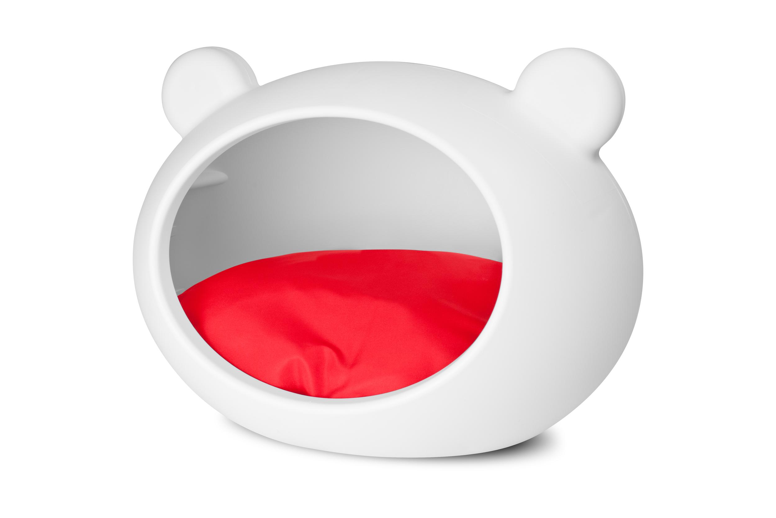 white_dog_bed_red_cushion.jpg
