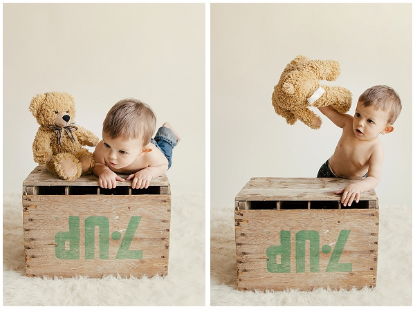 vintage baby boy photography