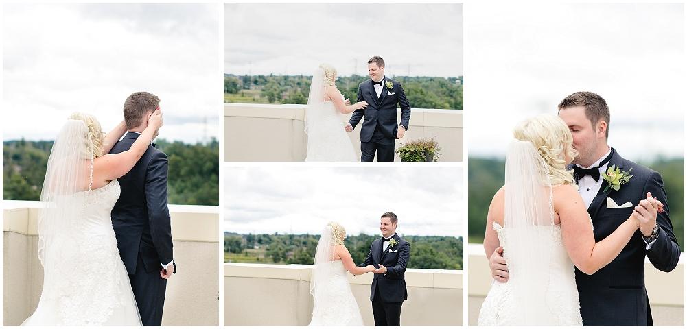 wedding shot alongside  Carolyn Bentum Photography