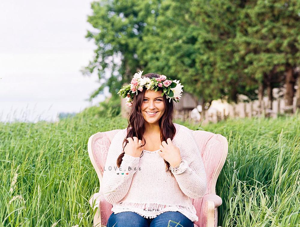 high school senior photographer Alliston