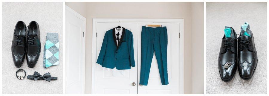 Jewel Toned Groom's Suit