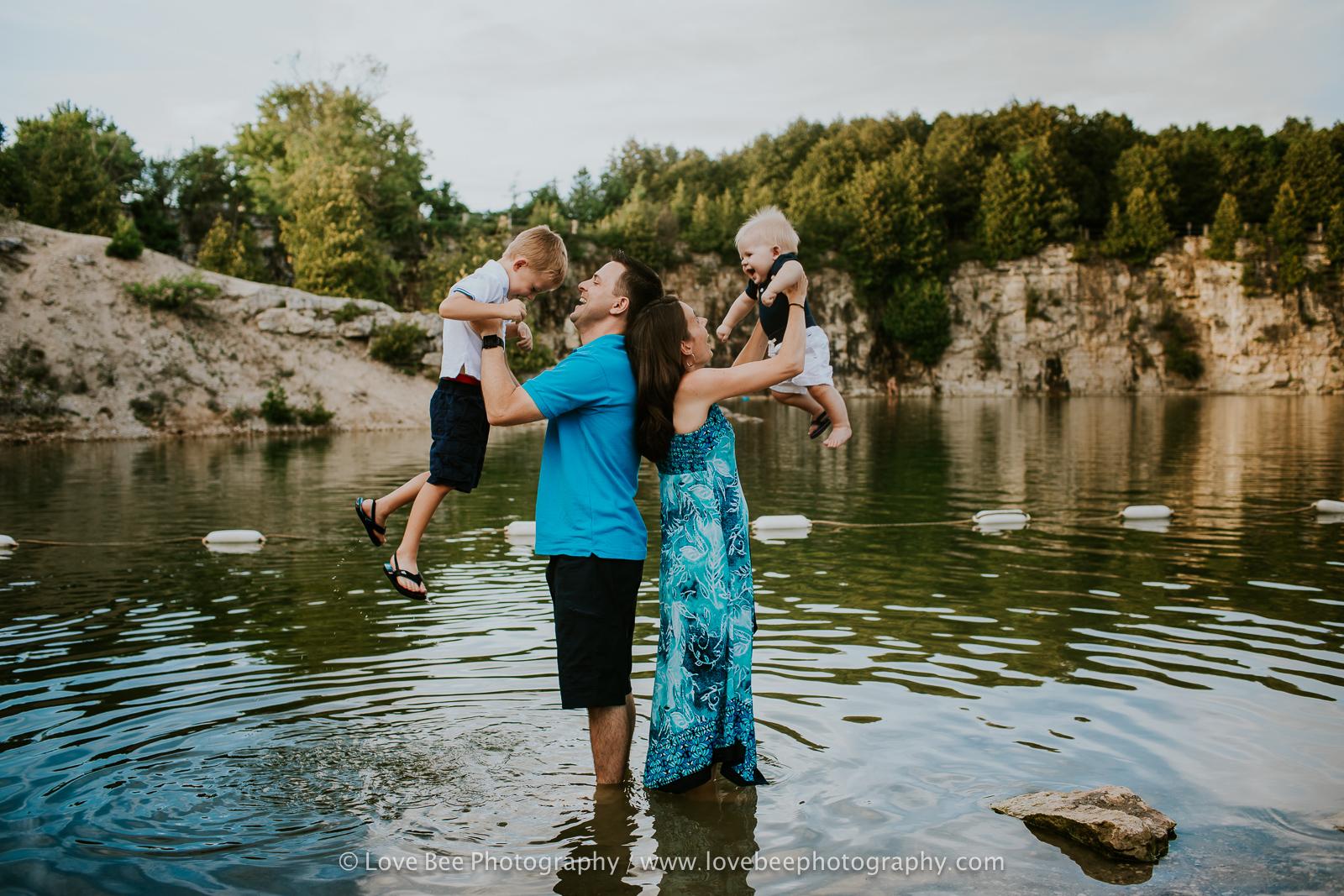 Family Elora Gorge