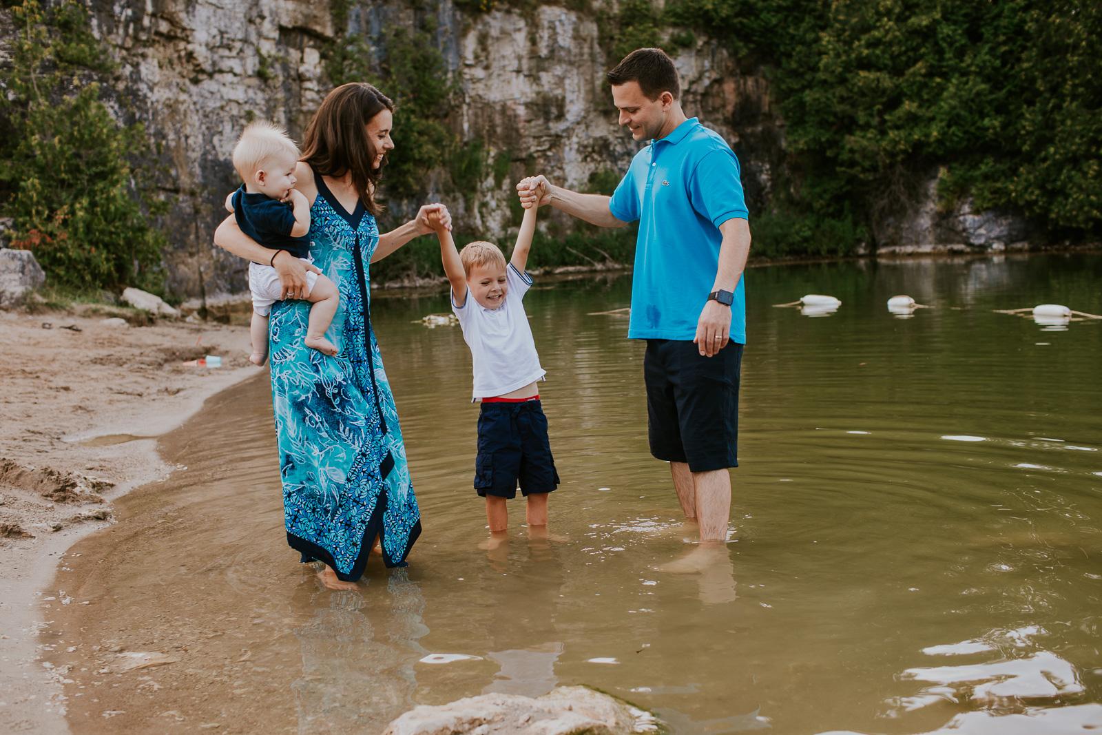 Elora Gorge Quarry Family Photography-264.jpg