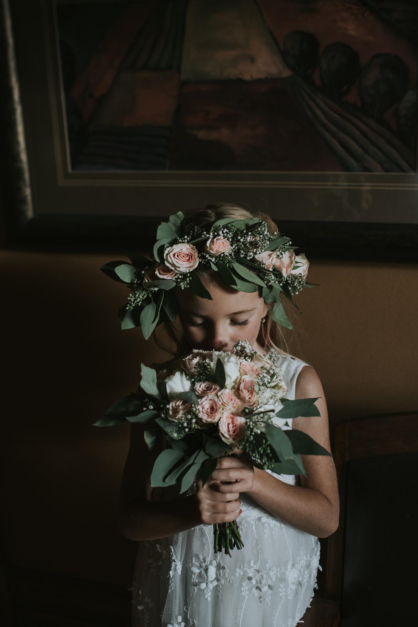 The sweetest flower girl