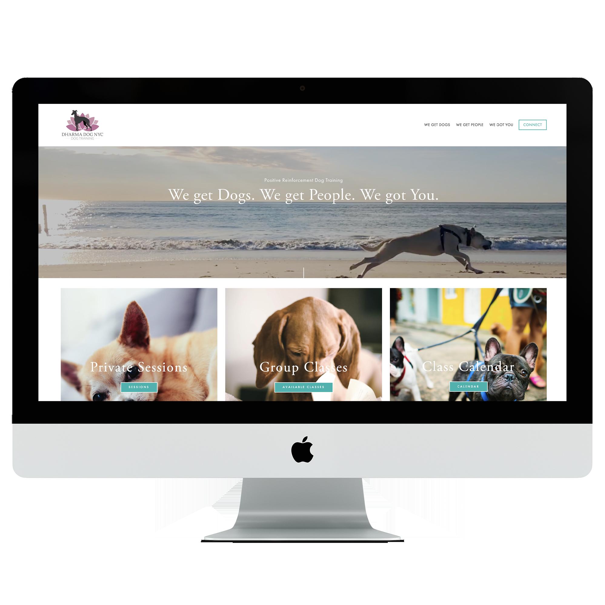 Dharma Dog Website