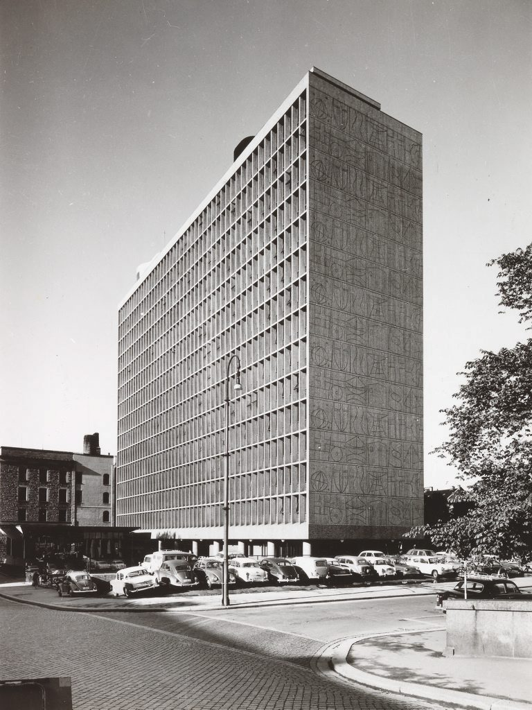 Høyblokken in 1959