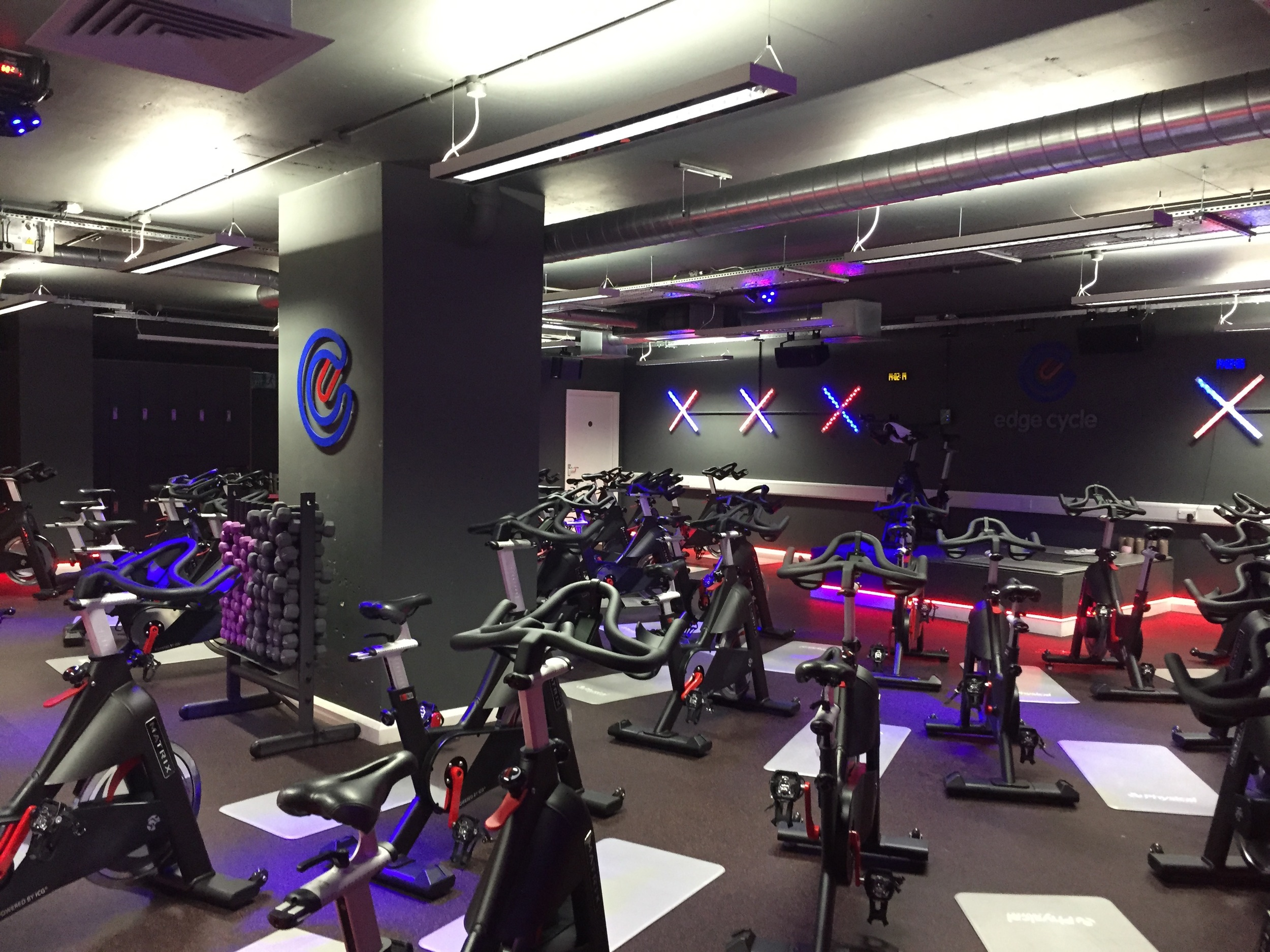Edge Cycle, Indoor Cycling Studio,Holborn. Get Fit - Get the Edge.