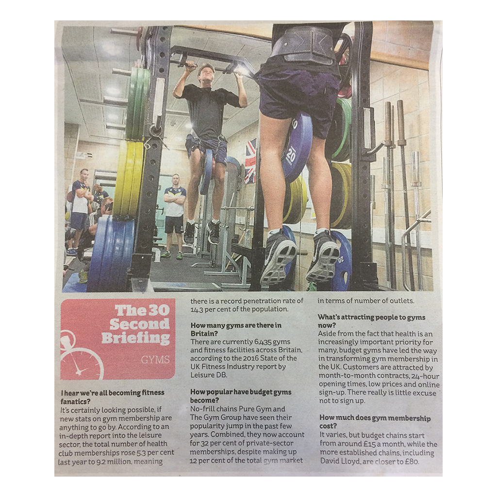 Article in The i Paper
