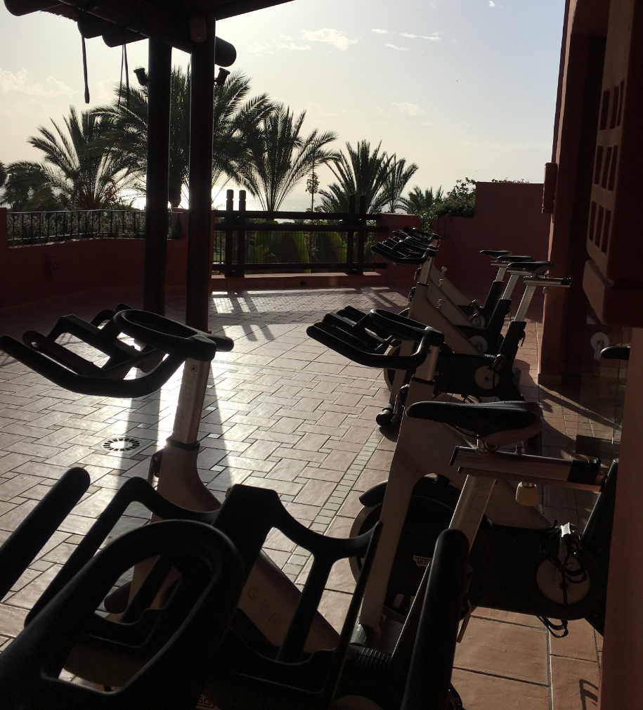 Spinning with a view...
