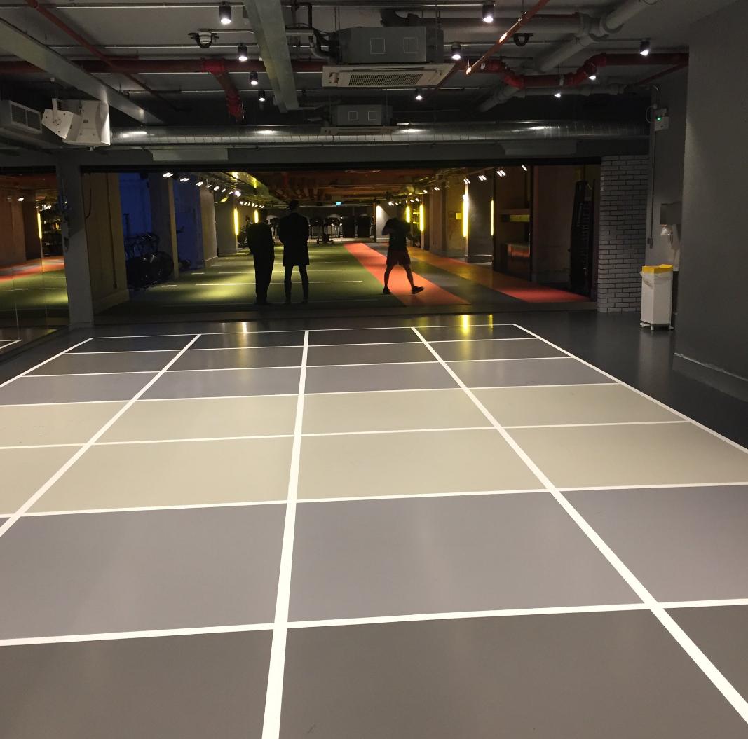 Floor Gymbox Farringdon