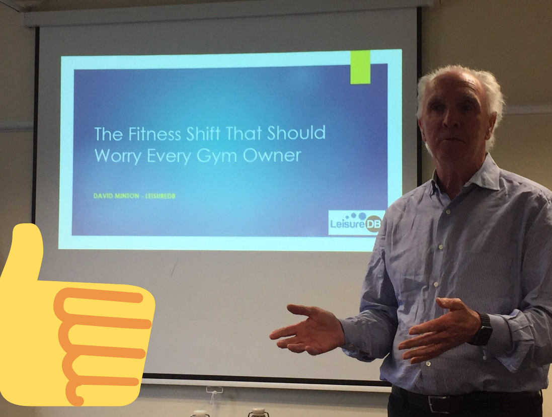 David discussing how technology is changing the future of the fitness industry and how each gym operator needs to adapt - #ActiveNet2017