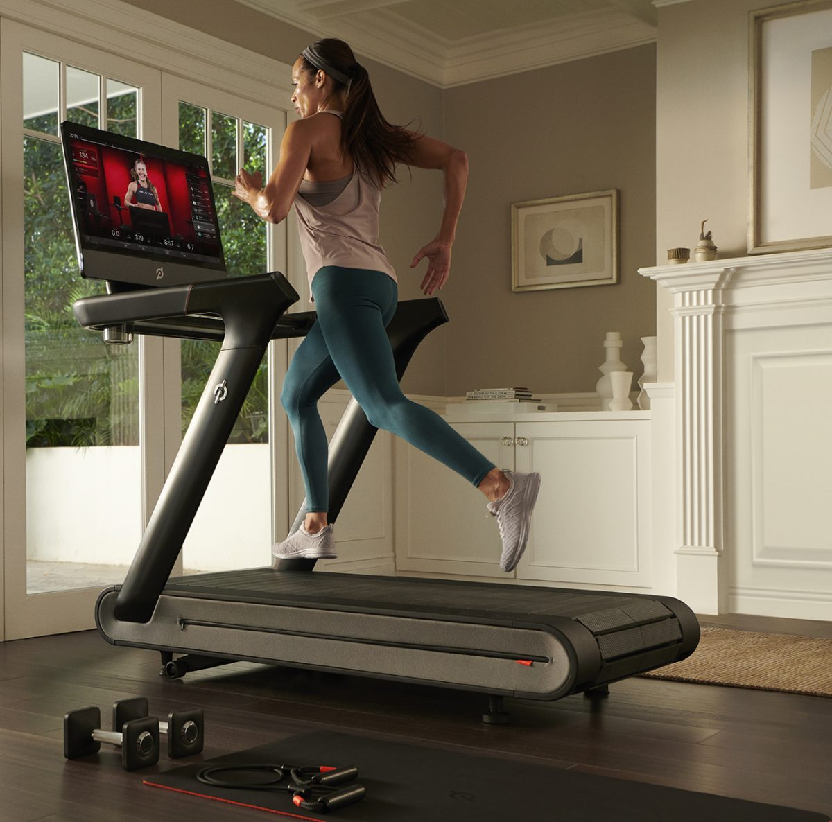Peloton expanded its lineup last year with the Tread, a smart treadmill.