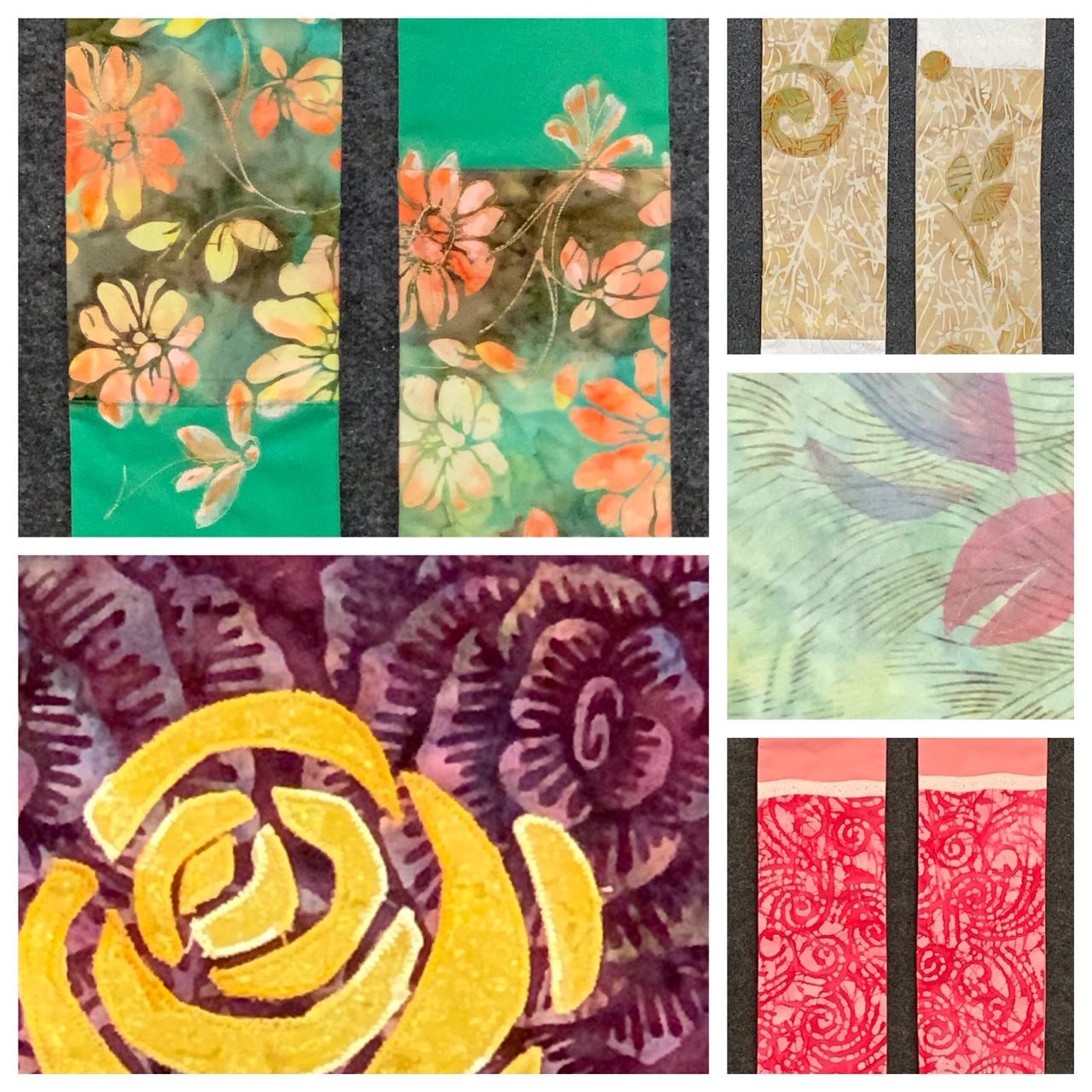 2019.7.31 Carrot Top Studio clergy stoles - batik fabrics.jpg
