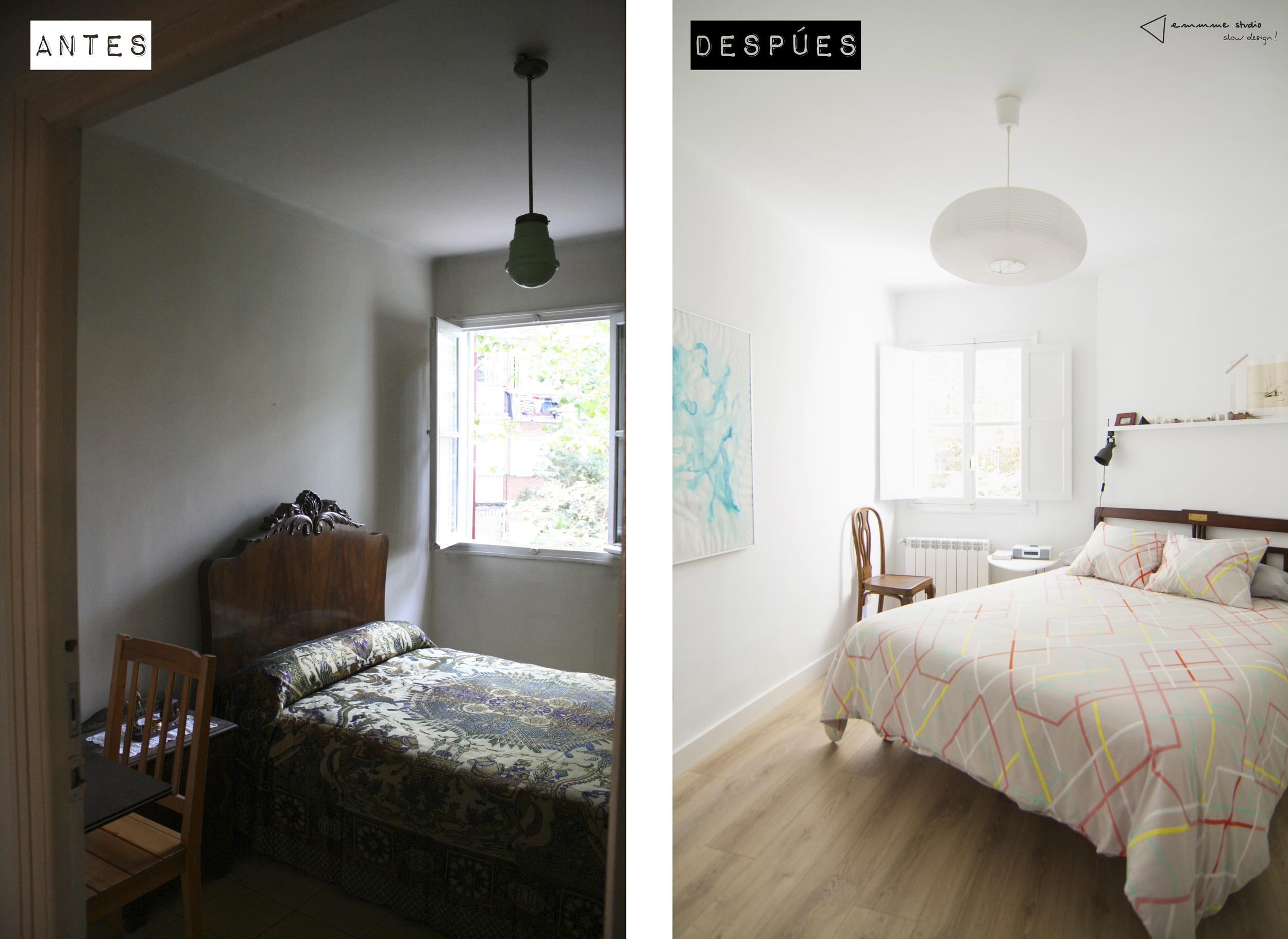 dormitorio Eva y Gonzalo    ©  emmme studio