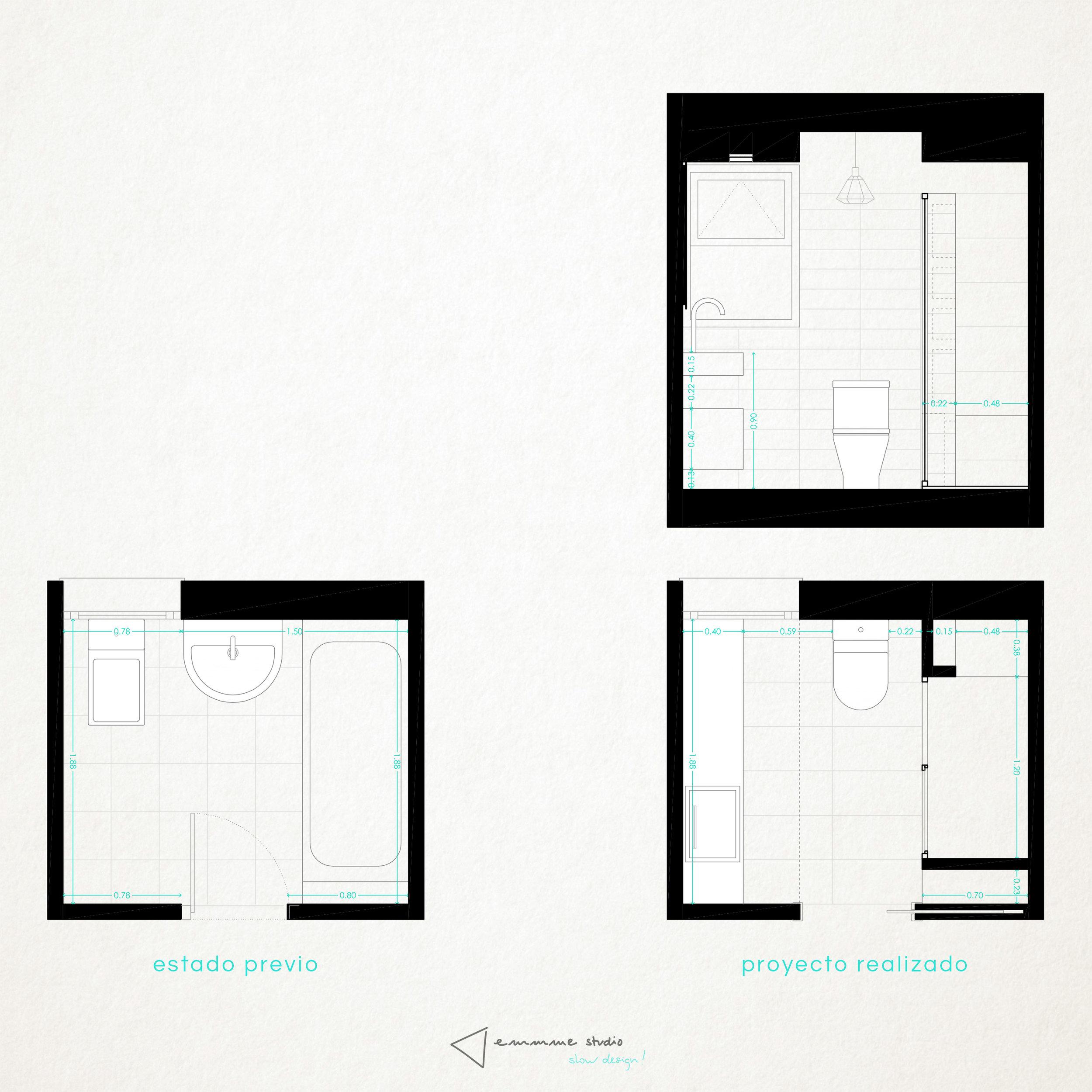 diseño reformas slow emmme studio - baño de Maria y Rober - plano antes despues.jpg