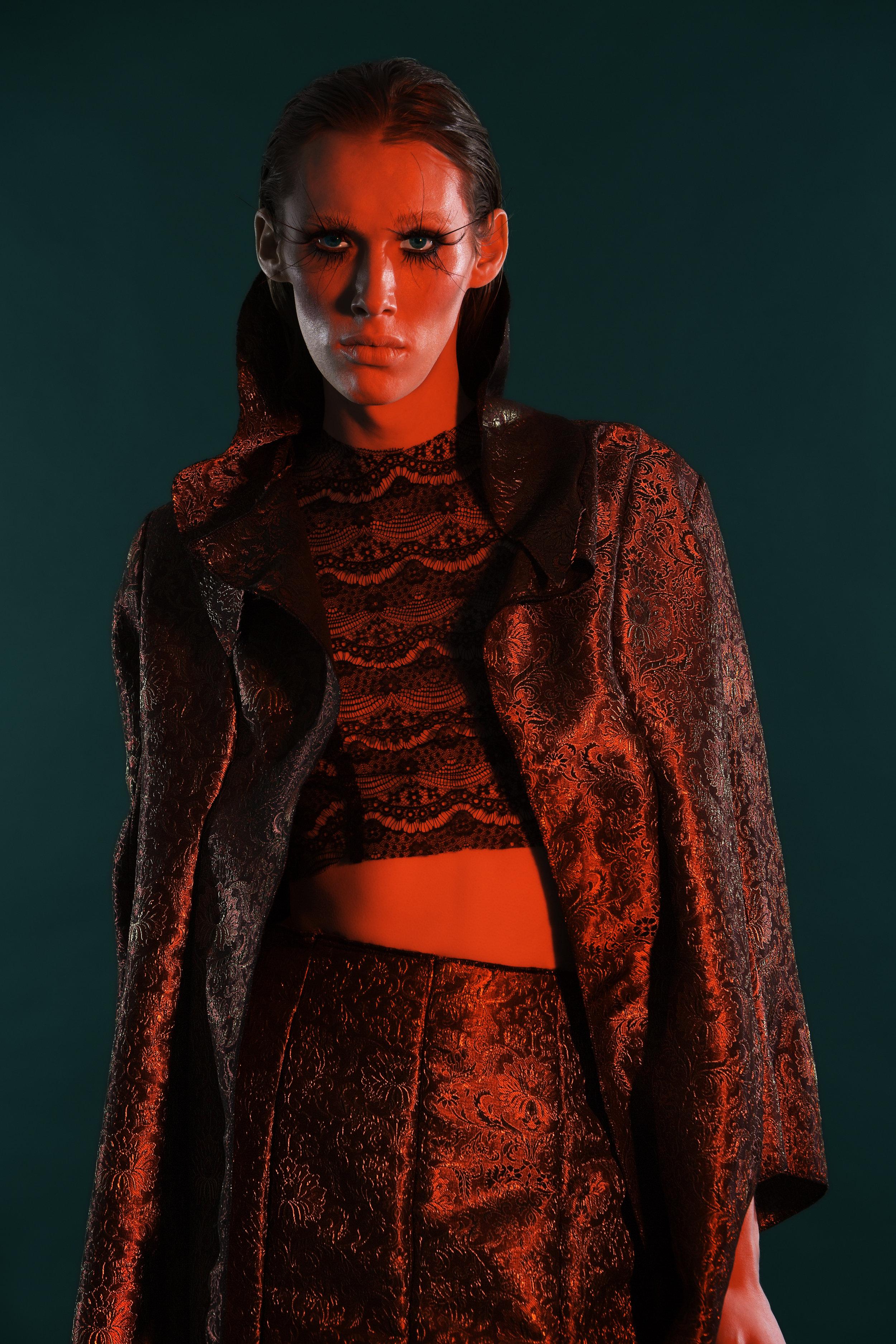 Photographer: Felicia Linden  Model: Caroline Mcghee  Designer: David Vo