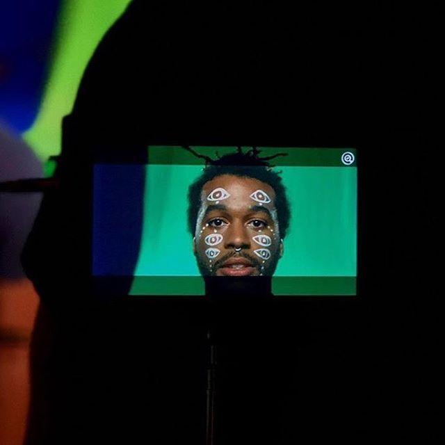 #bts of upcoming music video with @wolf_venus @steveintro @faithmflynn @pussywillow1 @johnokang @lucialavin @chrisburnetttt @scootseee #sophia #chrisburnettmusic #mua #nycartist #malemodel #facemakeup #glittermakeup #metallicmakeup #metallic #strass #facepaint  #nycmodel #artwork #latexmakeup  #specialfxmakeup #mua #charactermakeup #makeupartist #cinemamakeup #nycartist #filmmakeup #nycartist