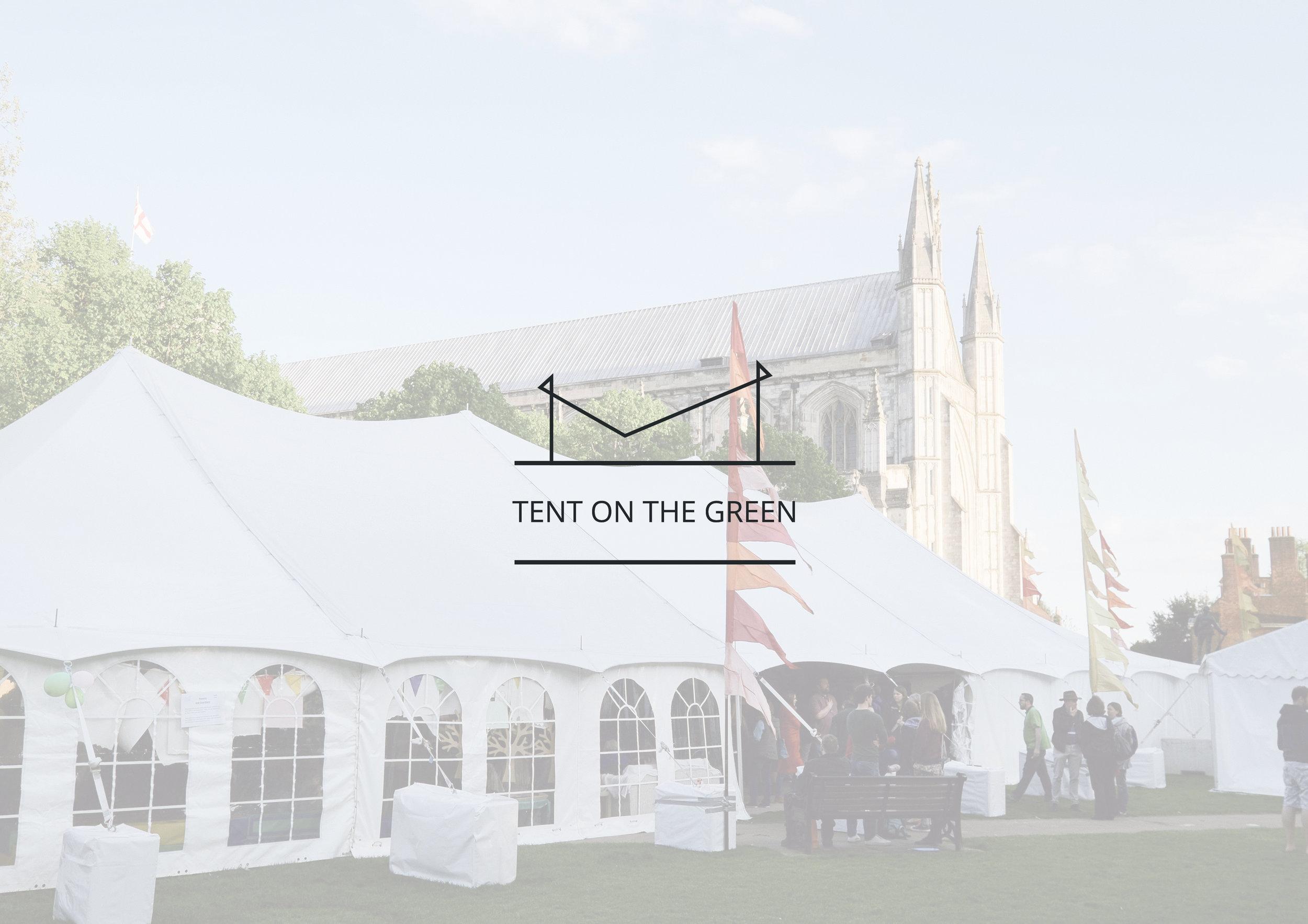 TENT ON THE GREEN FESTIVAL - BRANDING