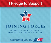 The Joining Forces initiative was created with the First Lady Mrs Obama and Mrs. Biden in cooperation with Fitness Fitnes Professionals of ACE