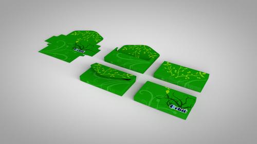product mockups designed & rendered in Cinema 4D