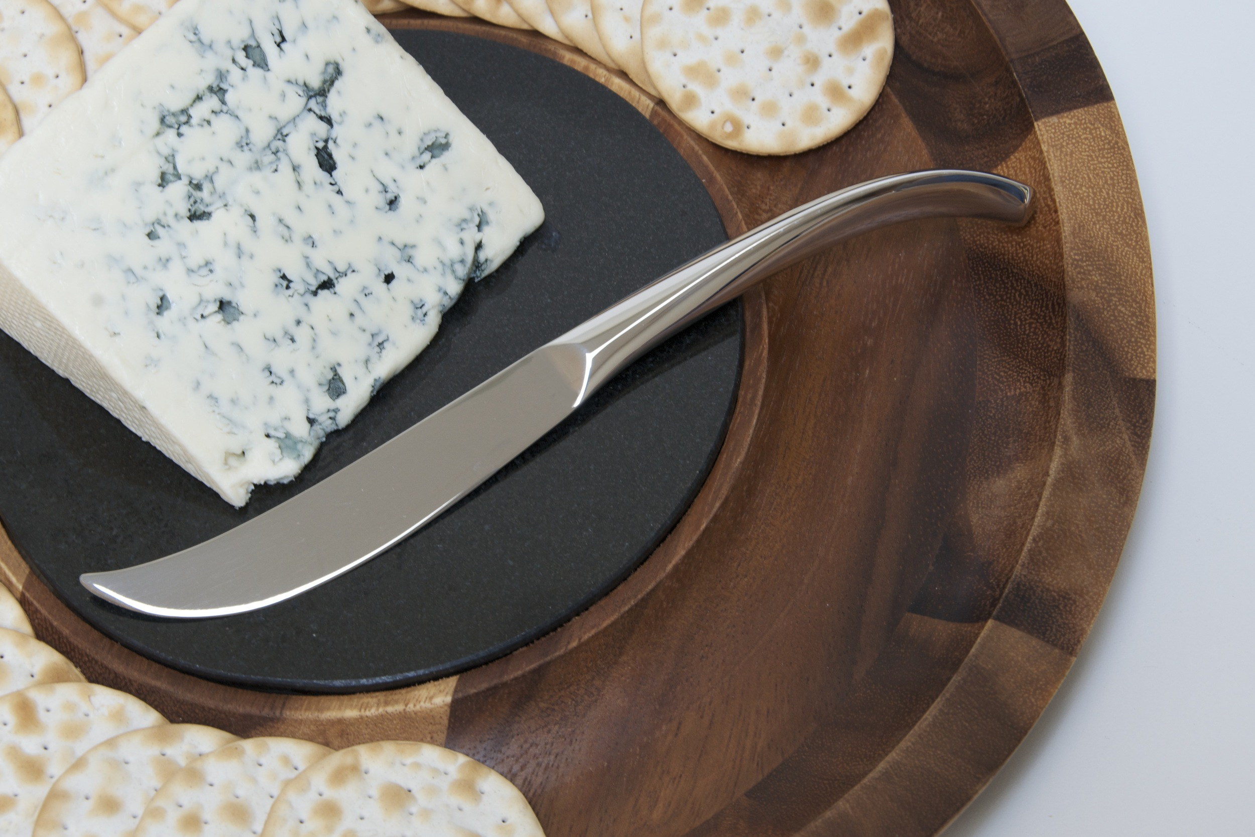 Butterfly Cheese Knife - Nambe 2009