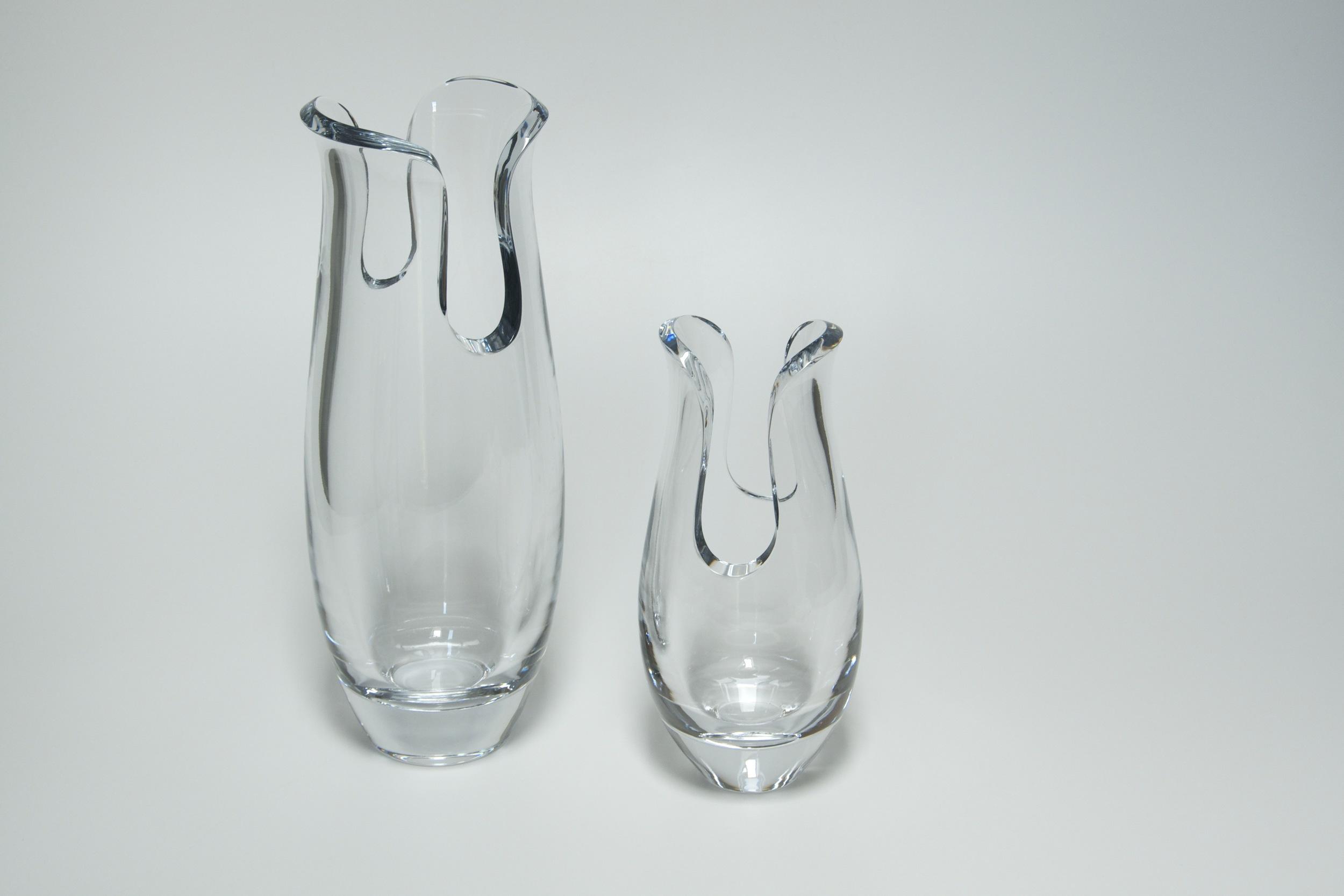 Maia Crystal Vases - Nambe 2008