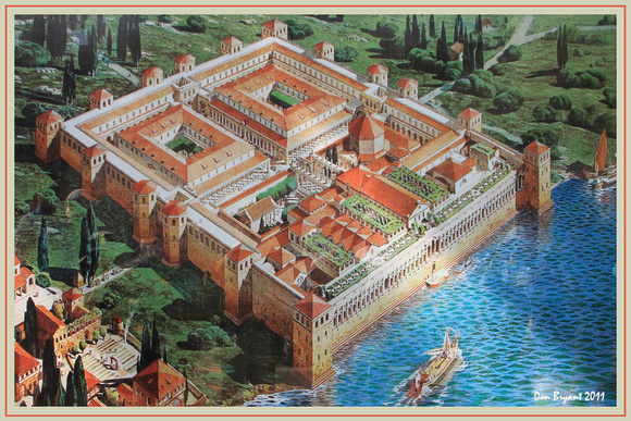 Diocletian's Palace re-imagined.