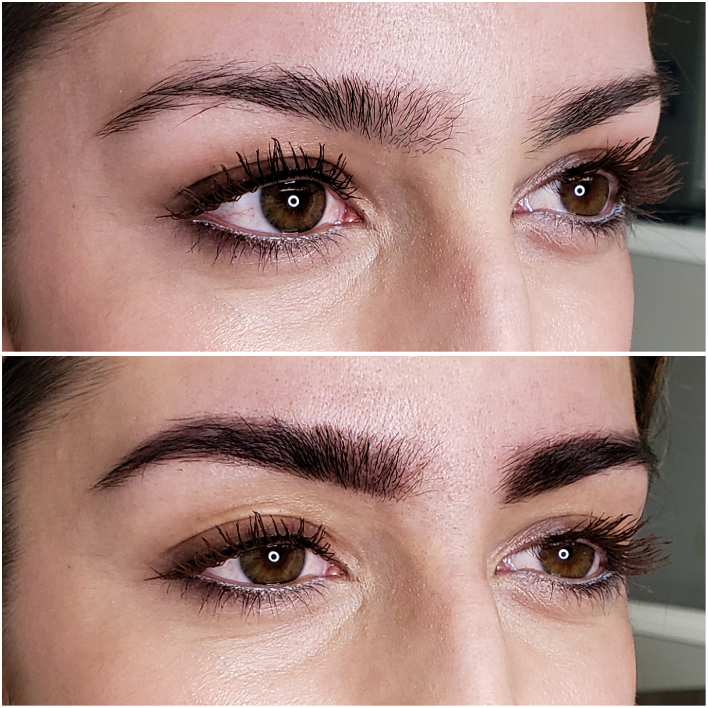 Brow Henna is a natural, quick, and most importantly, painless way to achieve full brows. It is a great alternative to powder, soft touch, and ombre brows. -