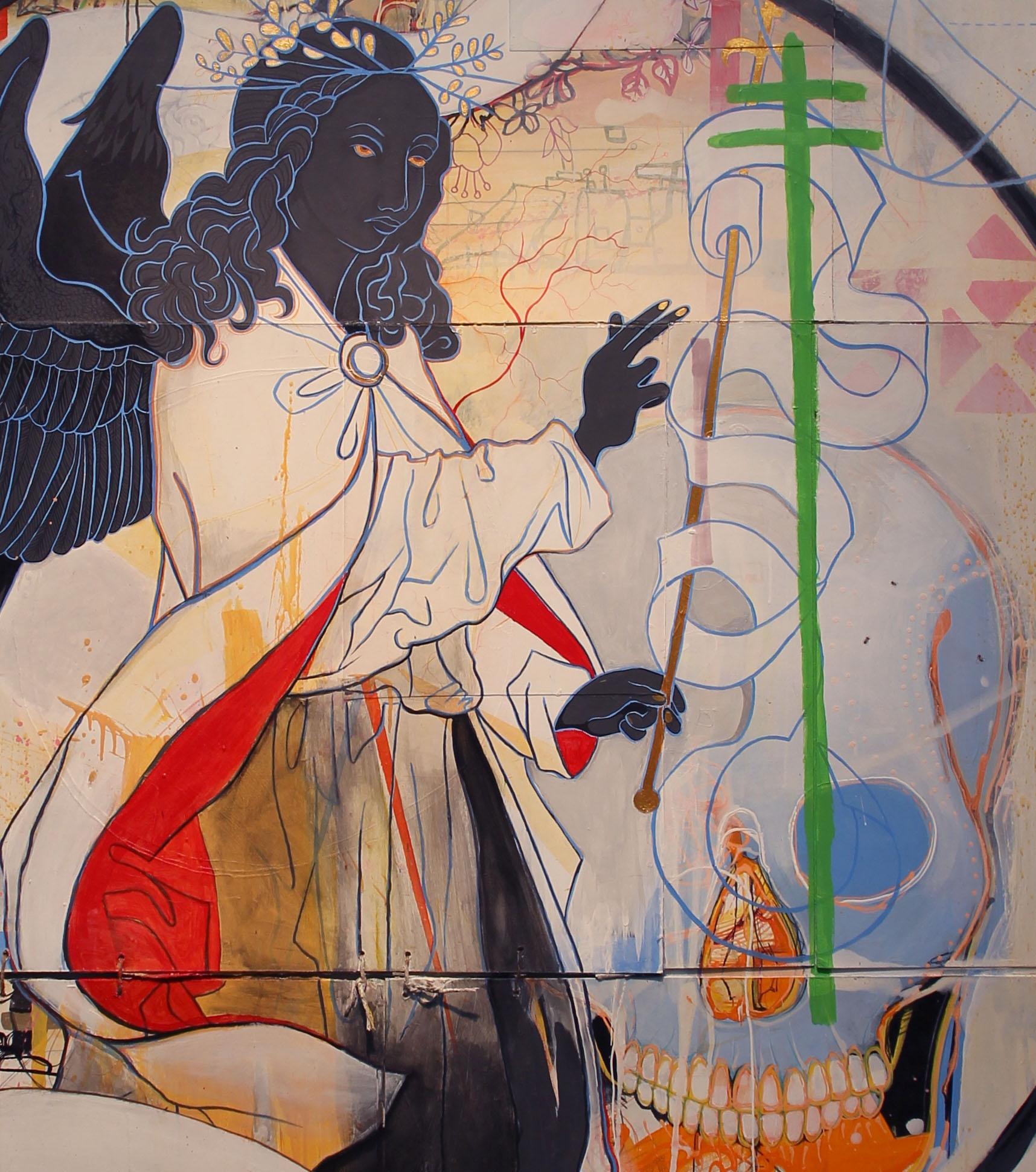 Detail of Black Angel