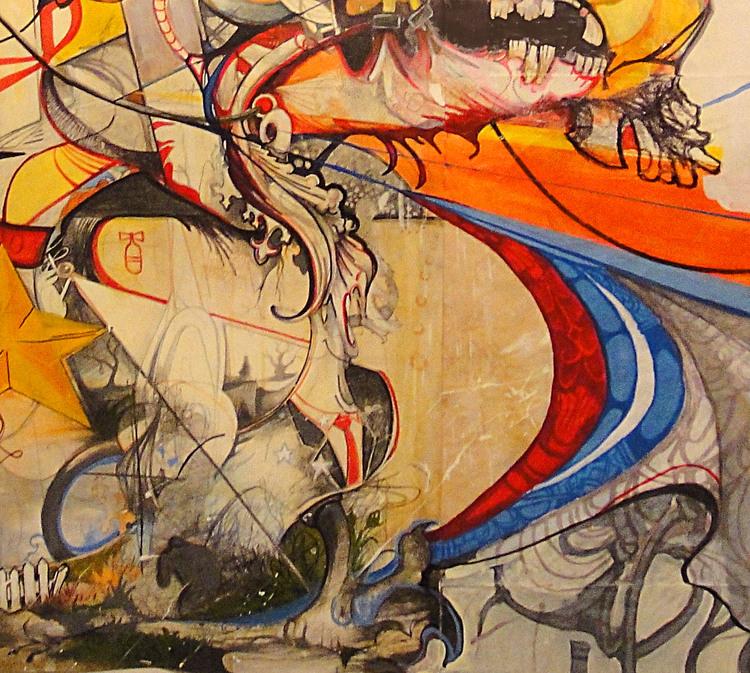 Detail of Monkey Rider