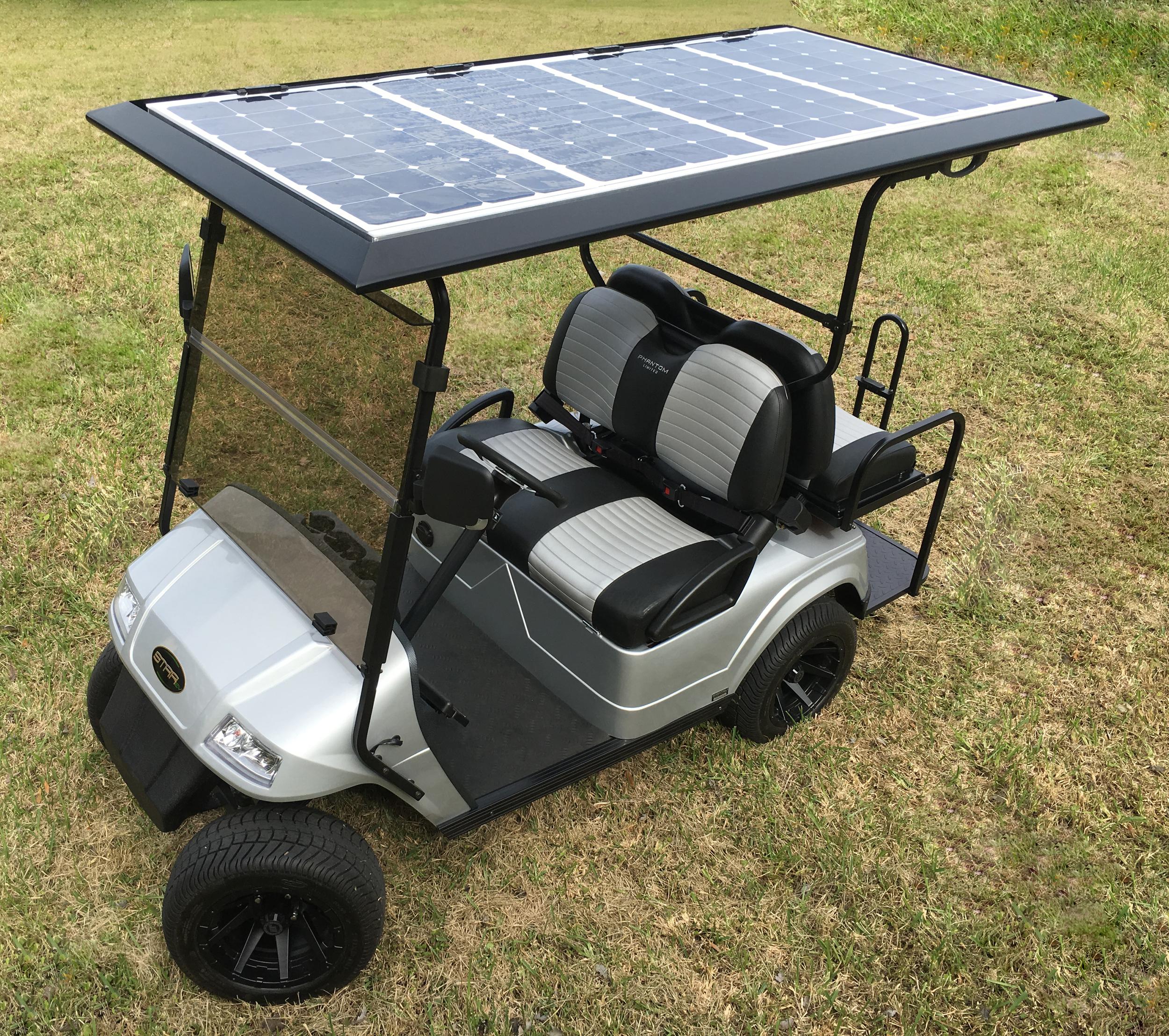 360w Custom Solar Roof
