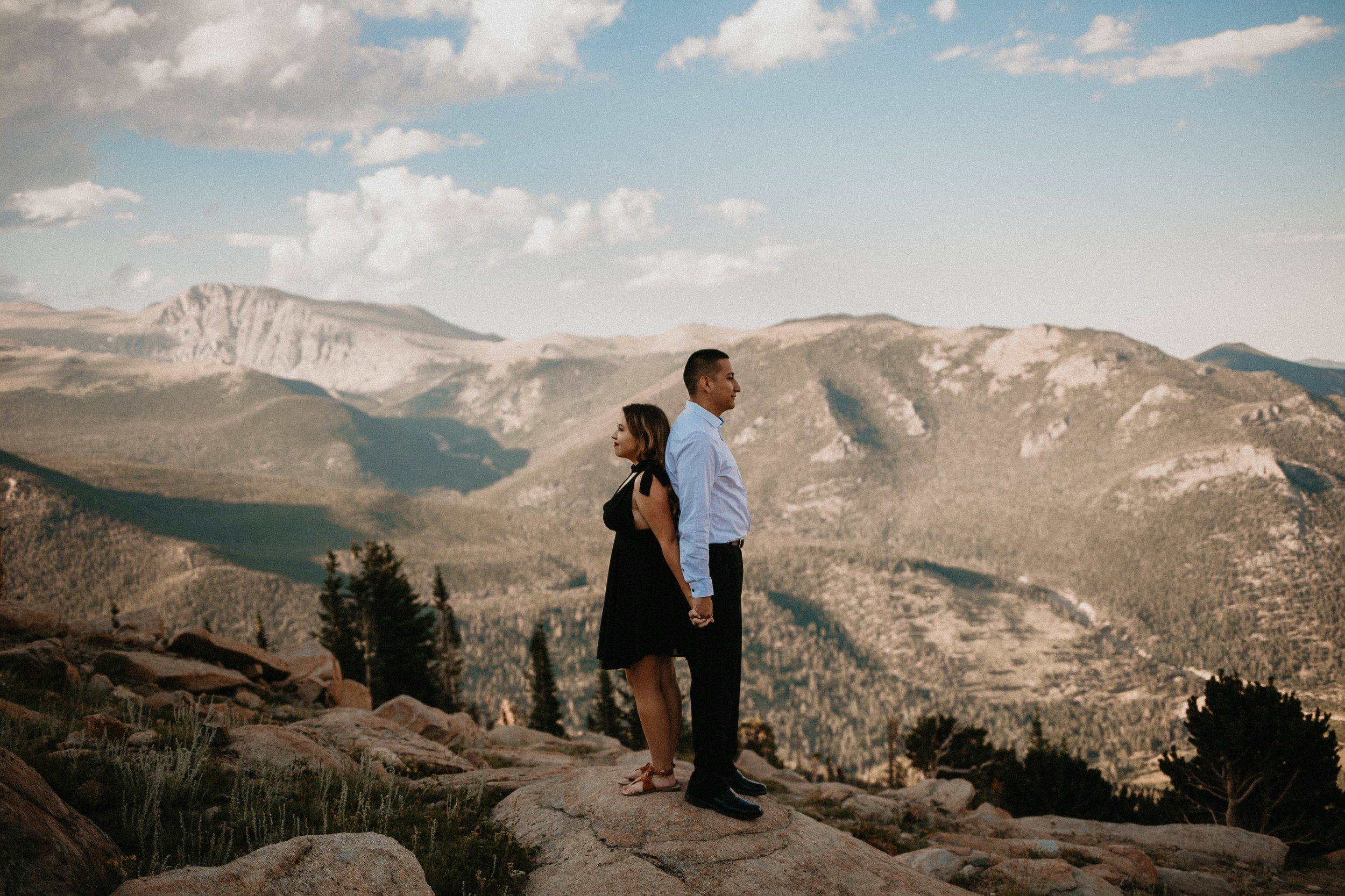 Kailee Ann Photography  | Colorado Wedding Photographer | Rocky Mountain Engagement Session
