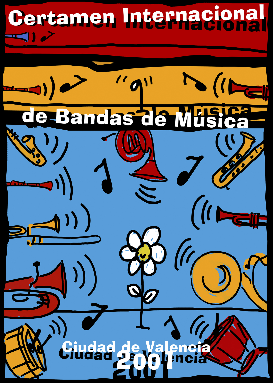 Cartel Certamen Bandas de Música