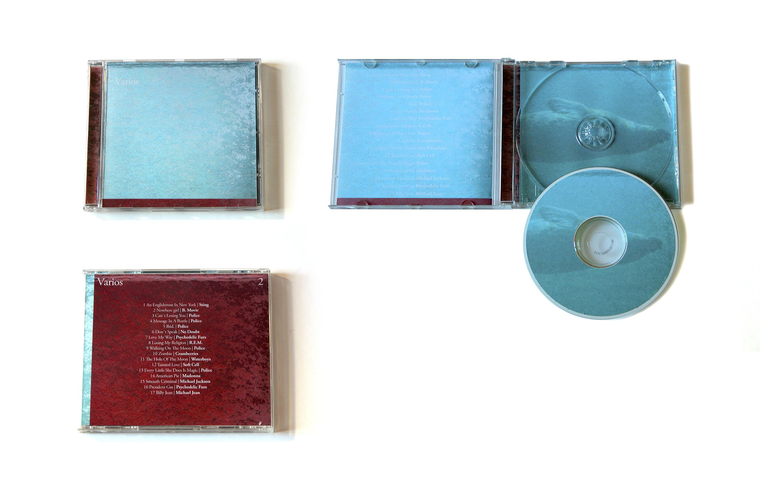 Carátulas de CD de música, 'Varios 2', D. Pedro Esteban (DEP)