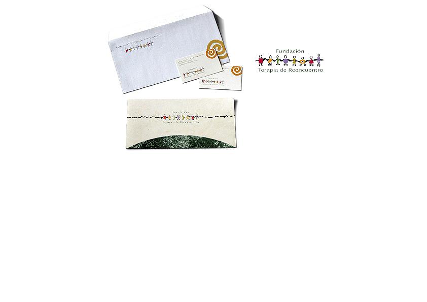 Logotipo y papelería corporativa para la Fundación Terapia de Reencuentro